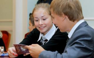 Как получить первый паспорт в 14 лет санкт петербурге
