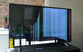 Можно ли отремонтировать плазменный телевизор после удара