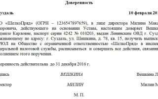 Оформлениедоверенностей копий и выписок из документов