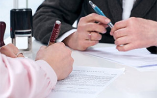Образец доверенности на отдачу документов