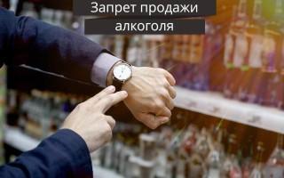 Правила работы продавца при продаже алкоголя в магазине ночное время 2019 год